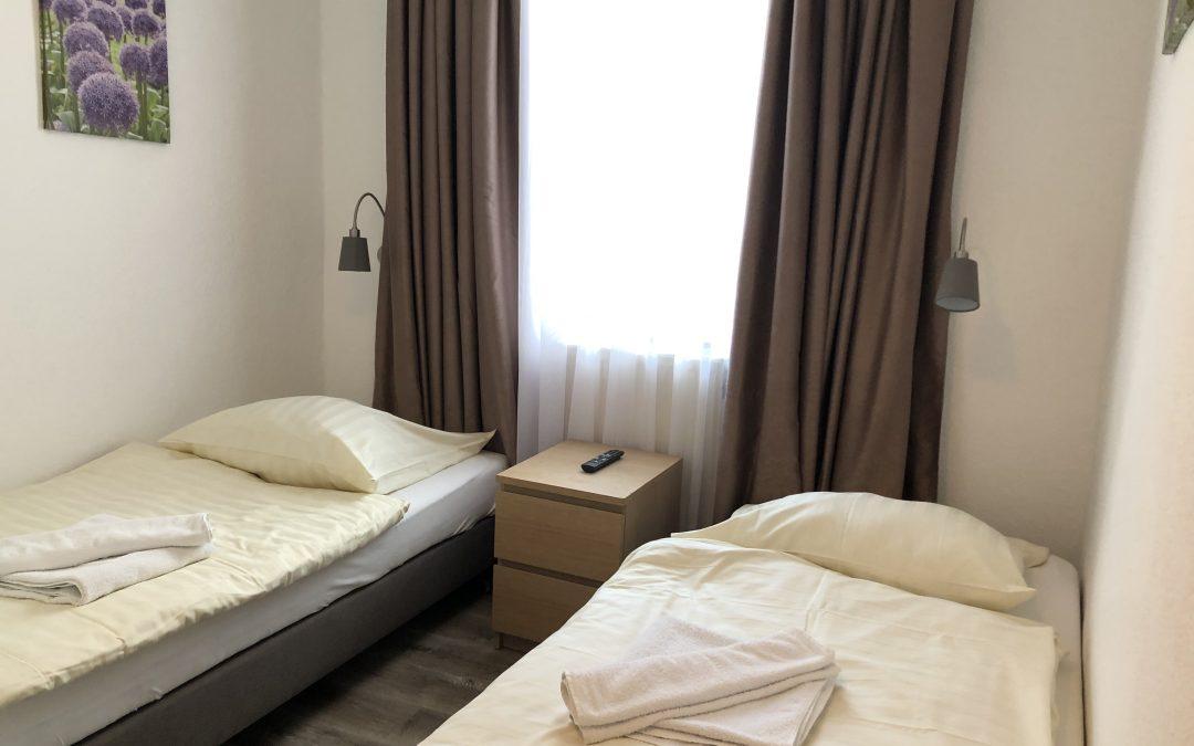 номер с двумя односпальными кроватями